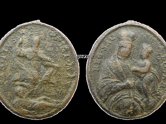 Pius V. / Rosenkranzmadonna