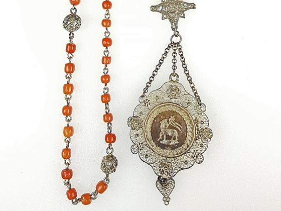 Rosenkranz / Christusmonogramm / Lamm Gottes