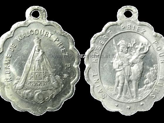 Walcourt, Belgien / Hubertus von Lüttich
