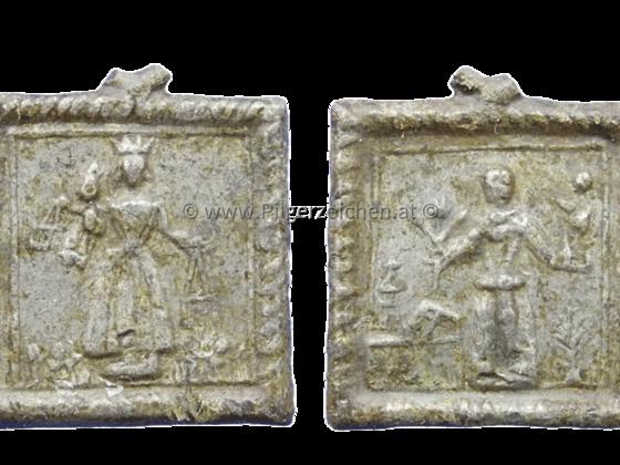 Skapuliermadonna / Antonius von Padua