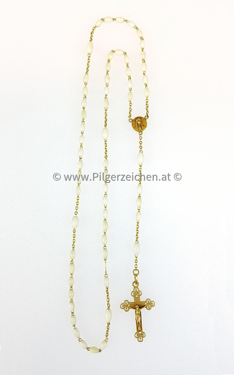 Rosenkranz / Dreipasskreuz / Maria Immaculata