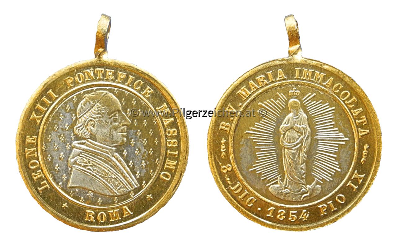 Papst Leo XIII. / Unbefleckte Empfängnis