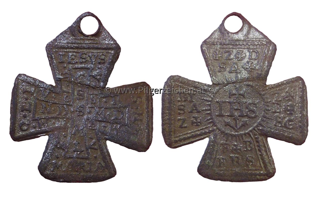 Benediktussegen / Zachariassegen / Christusmonogramm IHS / Bannkreuz