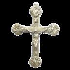 Dreipasskreuz / Der Gekreuzigte / Evangelistensymbole