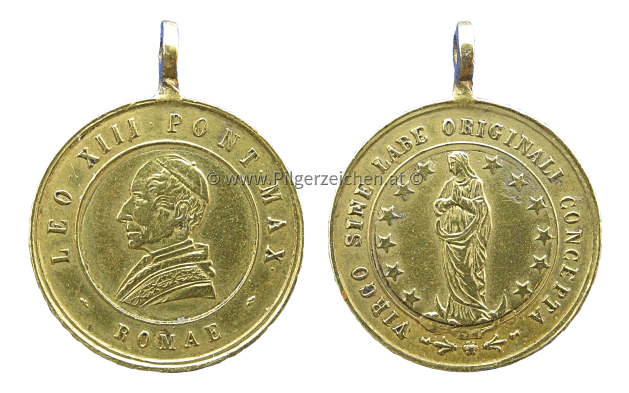 Papst Leo XIII. / Maria Immaculata