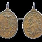 Christusmonogramm IHS / Franz von Assisi / Stigmata
