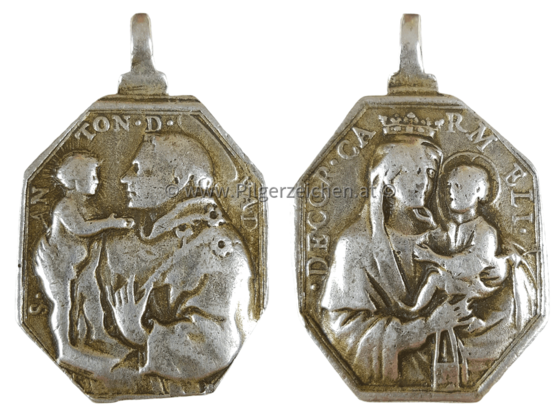 Antonius von Padua / Skapuliermadonna