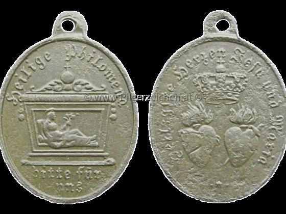 Philomena von Rom / Heiligstes Herz Jesu / Unbeflecktes Herz Mariä