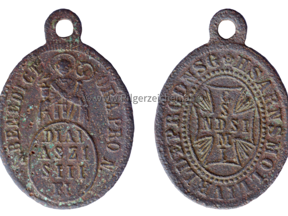 Benedikt von Nursia / Benediktussegen / Zachariassegen