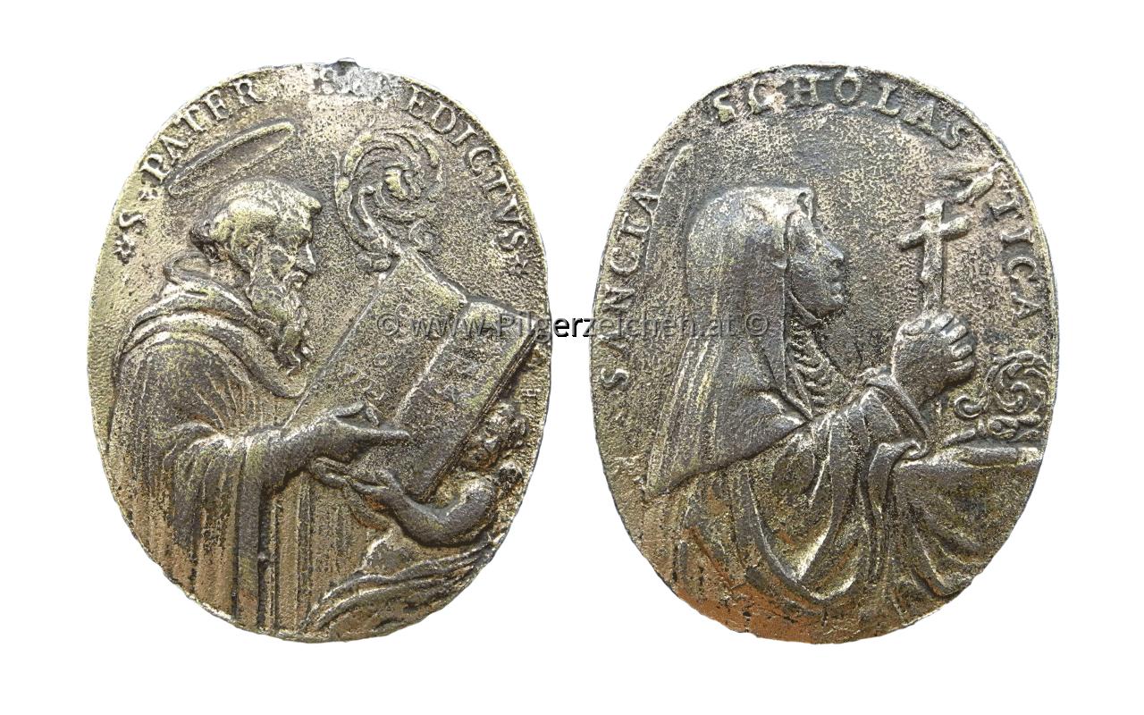 Benedikt von Nursia / Scholastika von Nursia