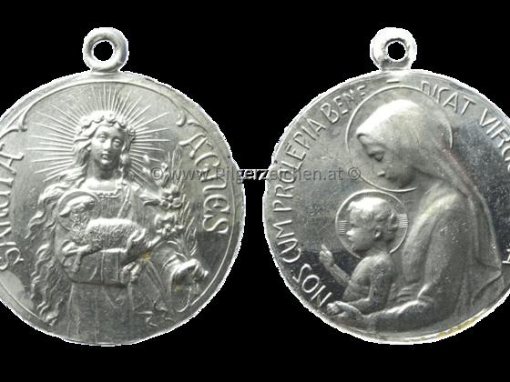 Agnes von Rom / Maria (Mutter Gottes) / Jesuskind
