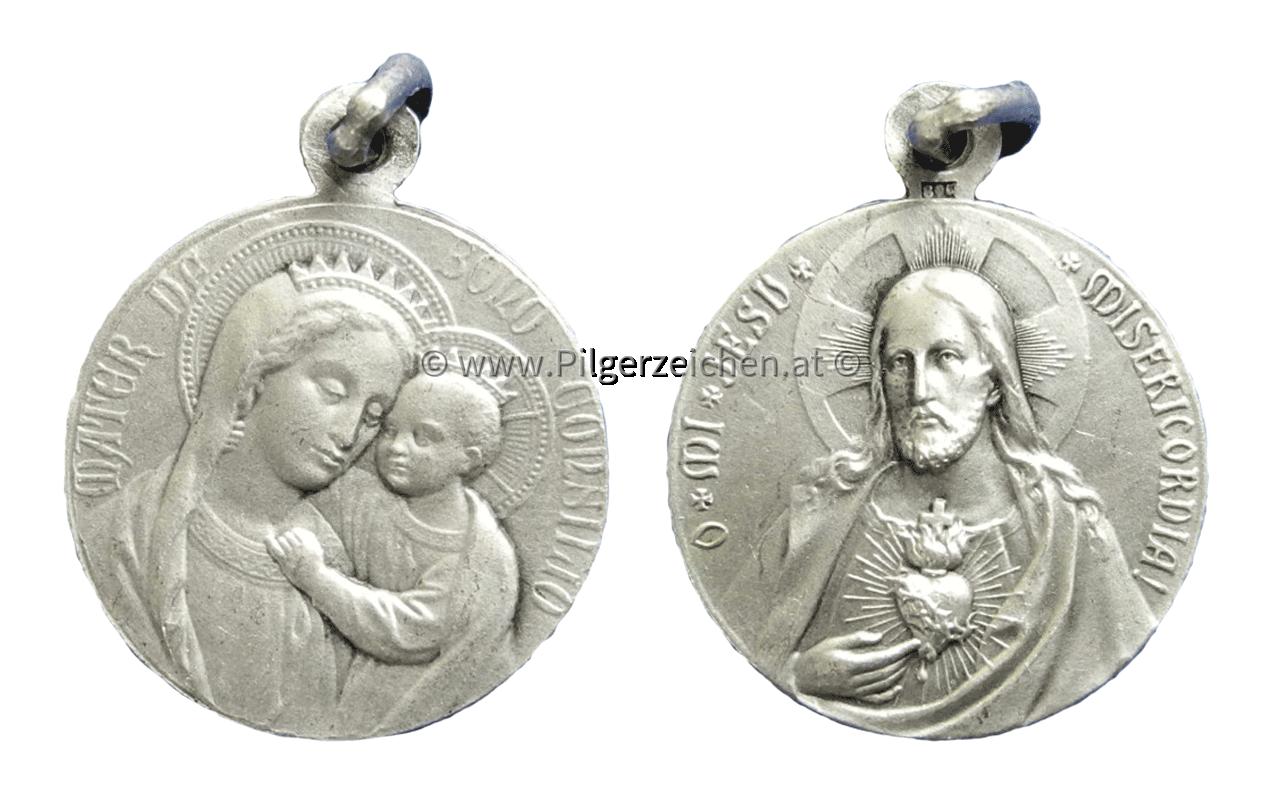 Maria, Mutter vom Guten Rat / Heiligstes Herz Jesu