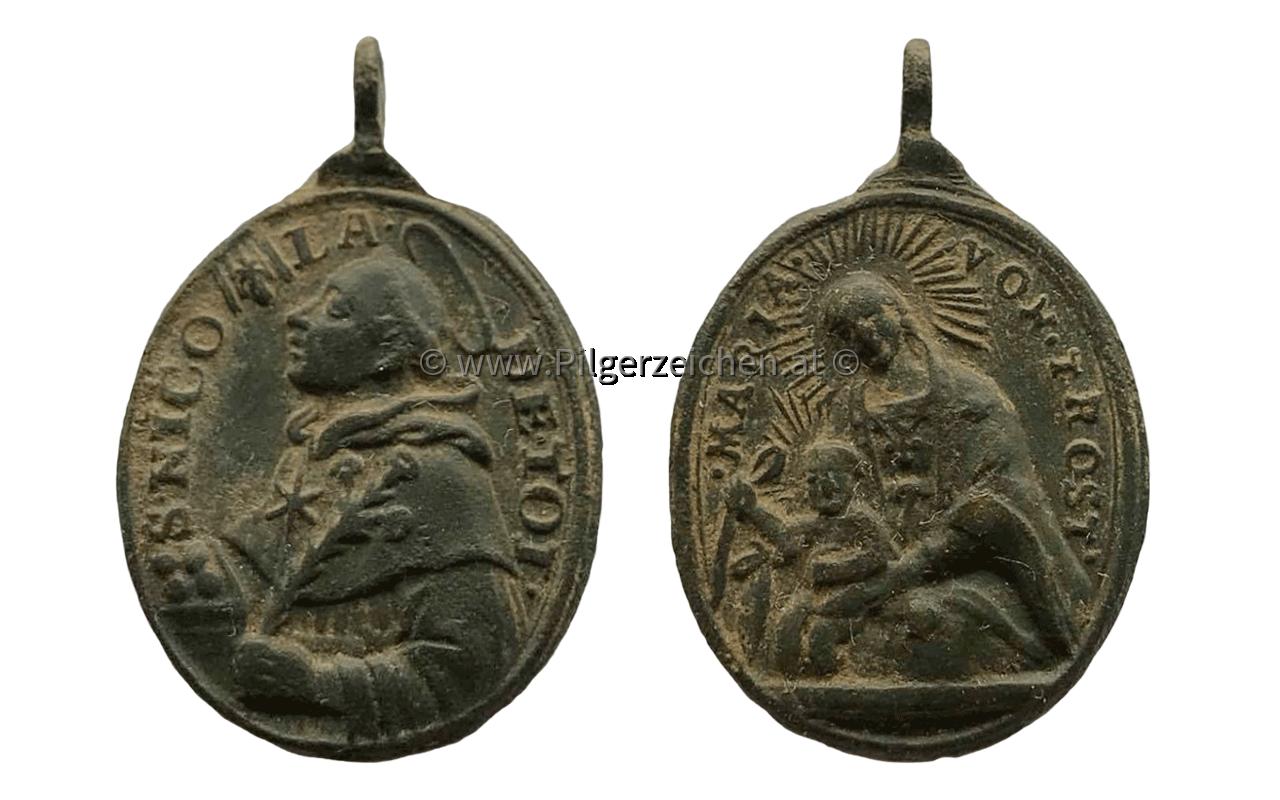 Nikolaus von Tolentino / Maria vom Trost