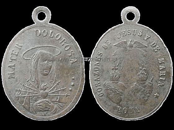 Mater Dolorosa / Heiligstes Herz Jesu / Unbeflecktes Herz Mariä