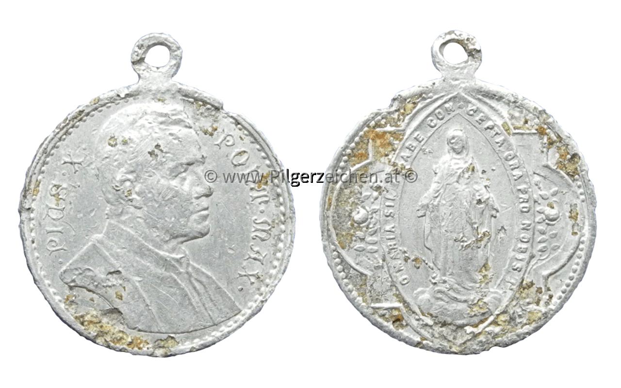 Papst Pius X. / Maria Immaculata