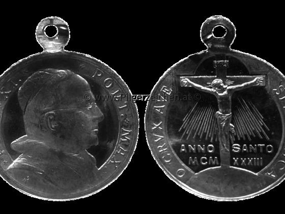 Papst Pius XI. / Jubeljahr 1933