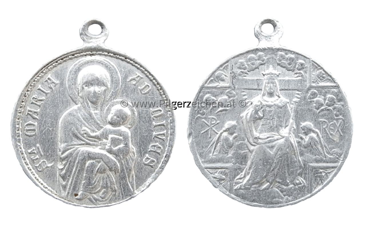 Maria Schnee / Krönung Jesus durch Engel