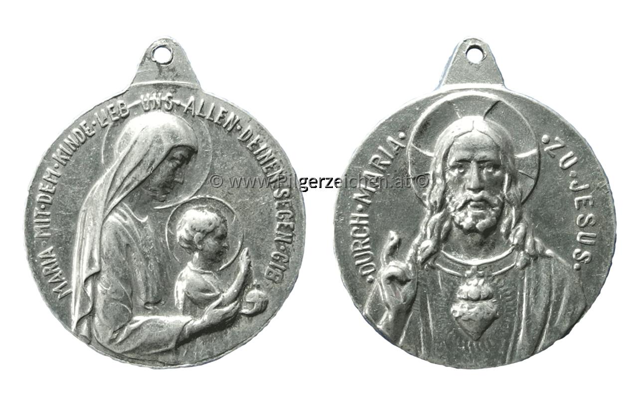 Maria (Mutter Gottes) / Jesuskind / Heiligstes Herz Jesu