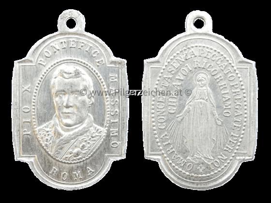 Papst Pius X. / Unbefleckte Empfängnis