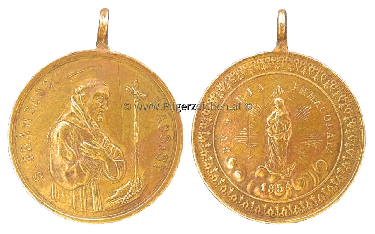 Franz von Assisi / Maria Immaculata