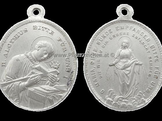 Aloisius von Gonzaga / Maria Immaculata