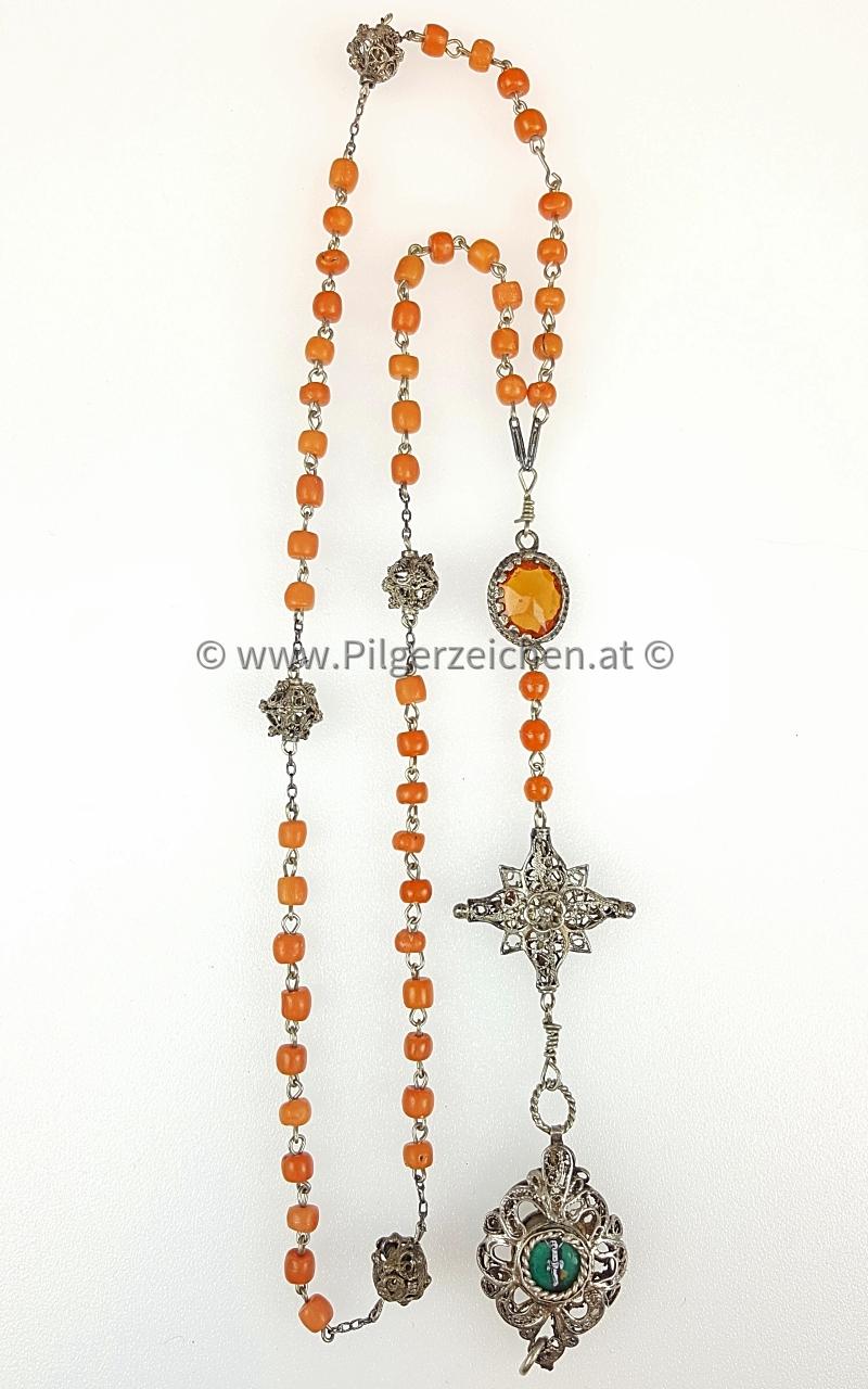 Rosenkranz / Christus am Kreuz / Maria, Mutter Gottes