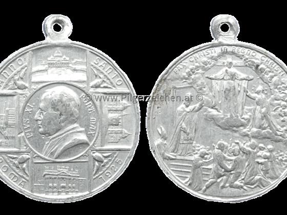 Papst Pius XI. / Jubeljahr 1925 / Pax Christi