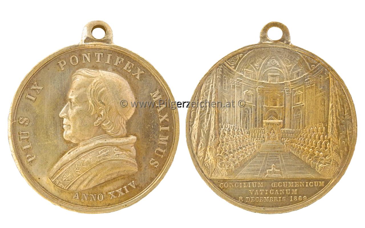 Papst Pius IX. / Erstes Vatikanisches Konzil